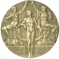 Medalla Londres 1908