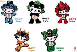 Mascota Pekín 2008