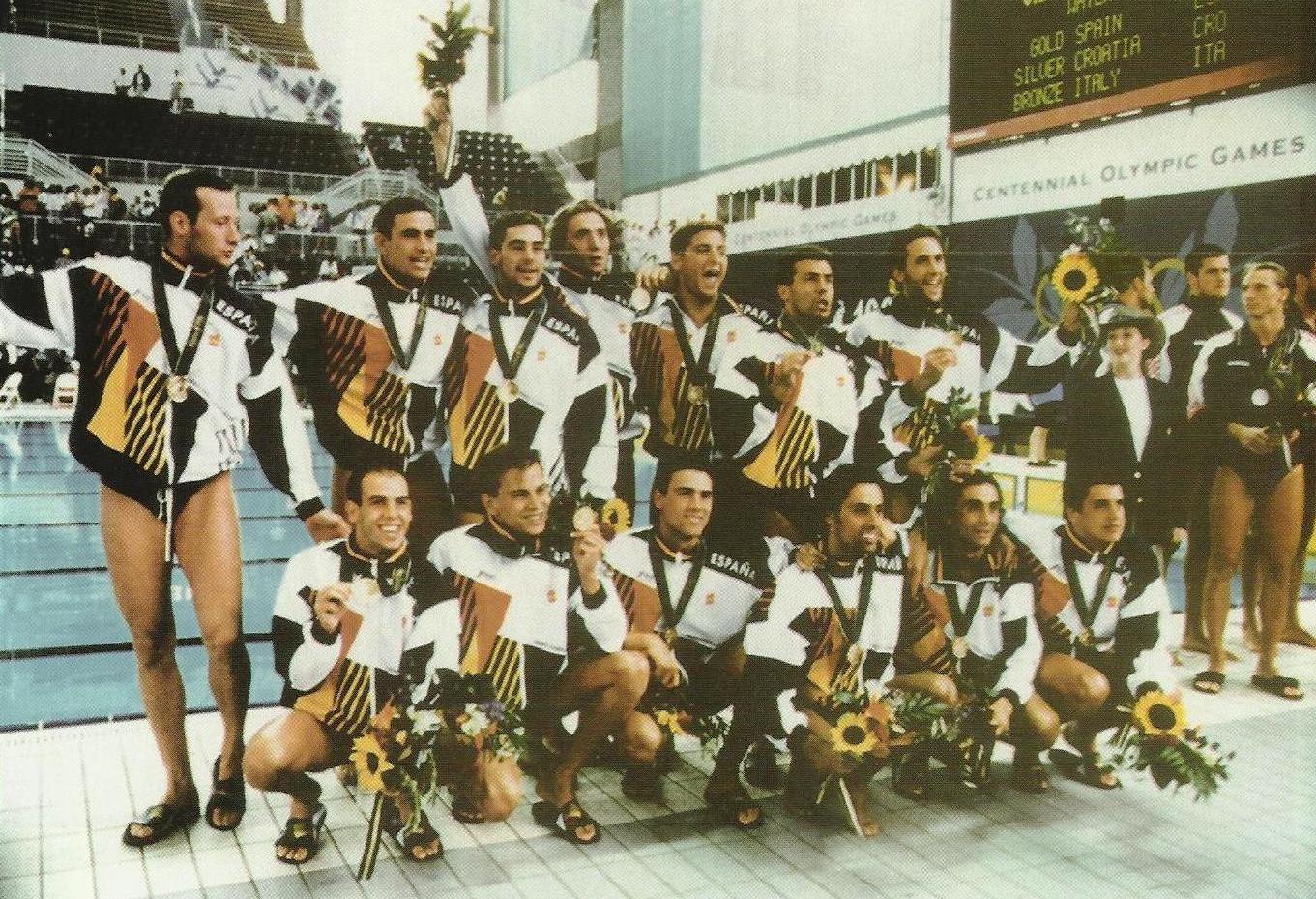 Equipo Español De Waterpolo Atlanta 1996