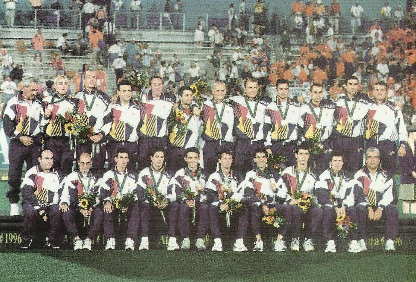 Equipo Español Hockey Hierba Atlanta 96